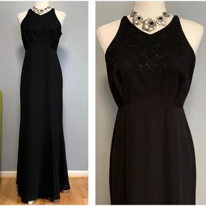 Vintage Laundry by Shelli Segal Black Ankle Dress